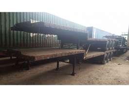 semi lowloader semi trailer Draco DT3A 1200-2400 1977