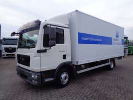 closed box truck MAN TGL 10.180 + MANUAL 2009