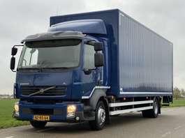 closed box truck Volvo VOLVO FL 260 EURO5. 2012.  Aut.  Bakwagen met Laadklep. 750x248x260. 2012