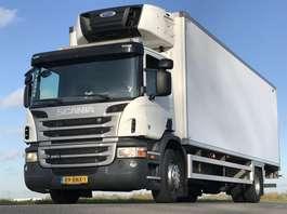 closed box truck Scania SCANIA P280 EURO5. 07-2013.  KOEL/Bakwagen met Laadklep. in TOPSTAAT!! 2013