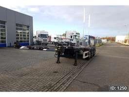 semirremolque de chasis contenedor M&V EURO 902 S Multi 2013