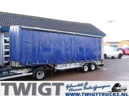 sliding curtain trailer Veldhuizen P29-2 Kuiptrailer met schuifzeilen opbouw 2000