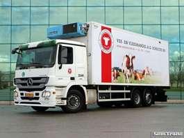 camion refrigerato Mercedes Benz 2541 L 6X2 EURO 5 LAMBERET BOX FRIGO BLOK MEAT RAILS 2008