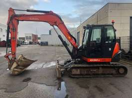 crawler excavator Kubota KX 080-4 2014