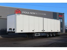 closed box semi trailer Närko Double-stock opening side 2014