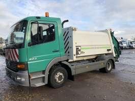 garbage truck Mercedes Benz ATEGO 823 City Press  6 Cil  Euro 2 2001