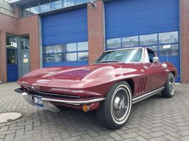 voiture coupé Chevrolet CORVETTE STING RAY  V8 1965