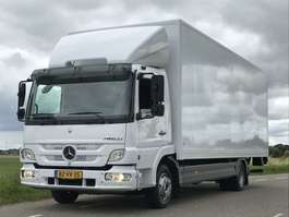 closed box truck Mercedes Benz MERCEDES-BENZ ATEGO 2012