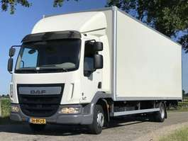 closed box truck DAF DAF LF 2014