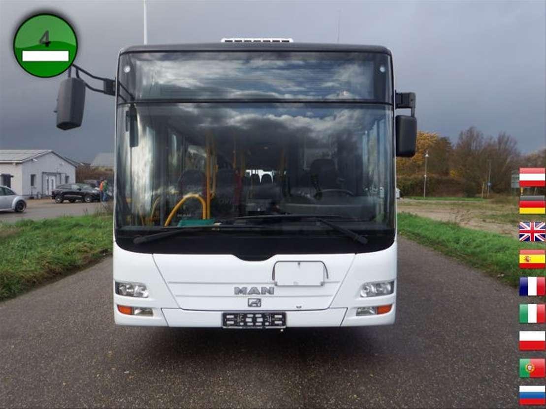 interurban bus MAN A25 - KLIMA - Standheizung - EURO4 2007