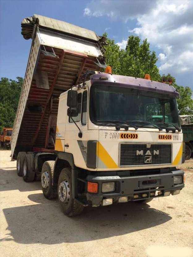 tipper truck MAN - 26.422 8x4 1995