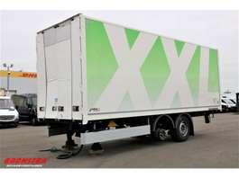 closed box trailer Hertoghs ZA18 2-Assige Doorlader 2019