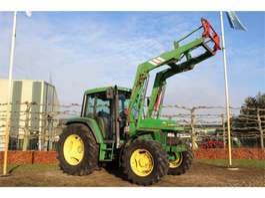 farm tractor John Deere 6100 PQ 1995