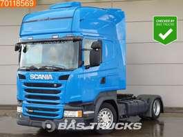 mega-volume tractorhead Scania R450 4X2 Mega Retarder Standklima 2x Tanks Euro 6 2015