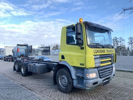 chassis cab truck DAF CF 85 .430 6x2 euro 3 2005 Geel 2005