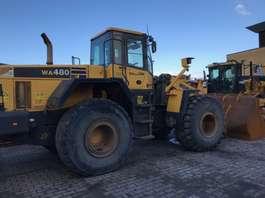 wheel loader Komatsu WA480-5H 2002