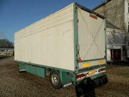 прицеп для перевозки скота Cuppers 2-assige aanhangwagen 1987