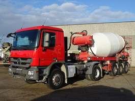 camion betoniera Mercedes Benz ACTROS 2041  4X4 2008
