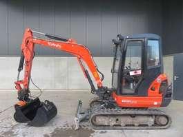 mini digger crawler Kubota KX 101-3 A 3 2012