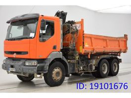 camion a cassone ribaltabile > 7.5 t Renault Kerax 320 DCi - 6x4 2003