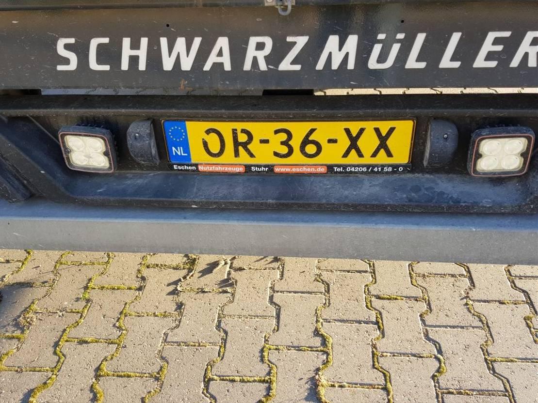 Schiebeplanenauflieger Schwarzmüller 3 as 2016