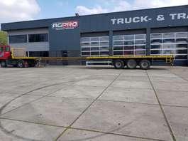 flatbed semi trailer Nooteboom M020071 1991