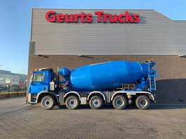 camion à bétonnière Ginaf X 5250 TS 10X4 WISSELSYSTEEM MIXER + KIPPER/TIPPER 2010