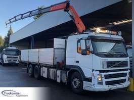 drop side truck Volvo FM 12 - 420, Manuel, Palfinger PK 16502, 6x2, Truckcenter Apeldoorn 2002