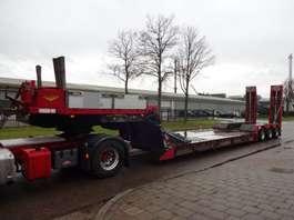 lowloader semi trailer Broshuis 3ABD-48 - REMOVABLE NECK - EXTENDABLE - POWERSTEERING 2004