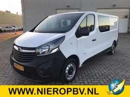 closed lcv Opel vivaro dub cab airco l2h1 39000km 2018