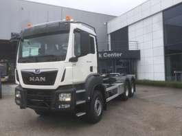 camion conteneur MAN TGS 33.470 6x4 BL-M containerhaak 2x wb 3900 & 3600mm 2019