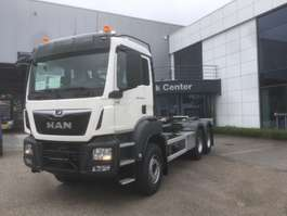 camion portacontainer MAN TGS 33.470 6x4 BL-M containerhaak 2x wb 3900 & 3600mm 2019