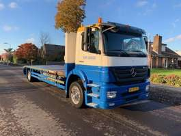 car transporter truck Mercedes Benz AXOR 1824 L 2 PIECES 2009