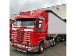 Тягачи стандарт Scania SCANIA 143-500 TOPLINE !!!! 1995