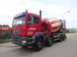 concrete mixer truck MAN TGA 41.410 8 X 4 !! MANUAL GEARBOX !! 2005
