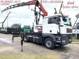 heavy duty tractorhead MAN TGA 18.440 - 4x4 HYDRO-DRIVE + PALFINGER PK 23002 G (8x) - HYDRAULIC FOR... 2008