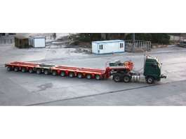semi lowloader semi trailer Scheuerle KAMAG   2 – 3 - 4- 5 -6 Axles  Module Platform Trailer  , flatbed deck ,... 2012