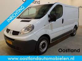 closed lcv Renault Trafic 2.0 dCi L1H1 Servicewagen / Modul-System Inrichting / Airco / Cru... 2014