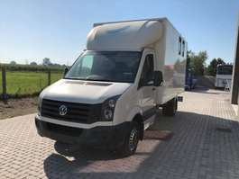 horse closed box lcv Volkswagen CRAFTER 2.5 2013