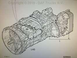 Gearbox truck part DAF ZF ECOSPLIT 4 - 16S2031 TD 2010