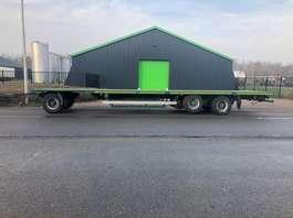 flatbed full trailer Van Hool AGROLINER - 3 2004