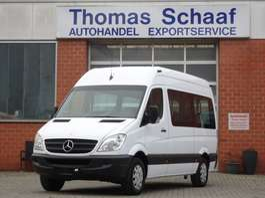 monovolume – automóvel carruagem de passageiros Mercedes Benz Sprinter 311 CDI 1+8 Sitze Rollstuhlrampe Klima Euro 4 2010