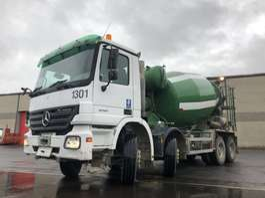 concrete mixer truck Mercedes Benz ACTROS 4141 K + STETTER 9M3 2004