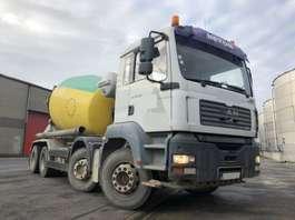concrete mixer truck MAN TGA 35.350 BB - LIEBHERR 9M3 2005