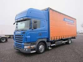 camião de caixa móvel Scania R420 LB 4x2 MNB Topline Jumbo BDF Retarder 2012