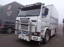 closed box truck Scania 142 M 420 V 8 intercooler TOP 1984