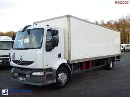 closed box truck Renault Premium 240.18 dxi 4x2 closed box + taillift 2008