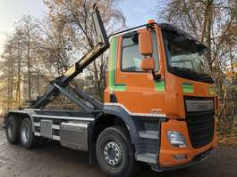 camion portacontainer DAF CF  440 6X2 Haakarm-Motor PTO-Liftas-Euro 6 2015