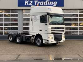 heavy duty tractorhead DAF XF 105.460 FTS 6x2 Super Space cab Automaat Airco 2012