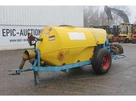 sprayer agricultural trailer KWH Boomgaardspuit